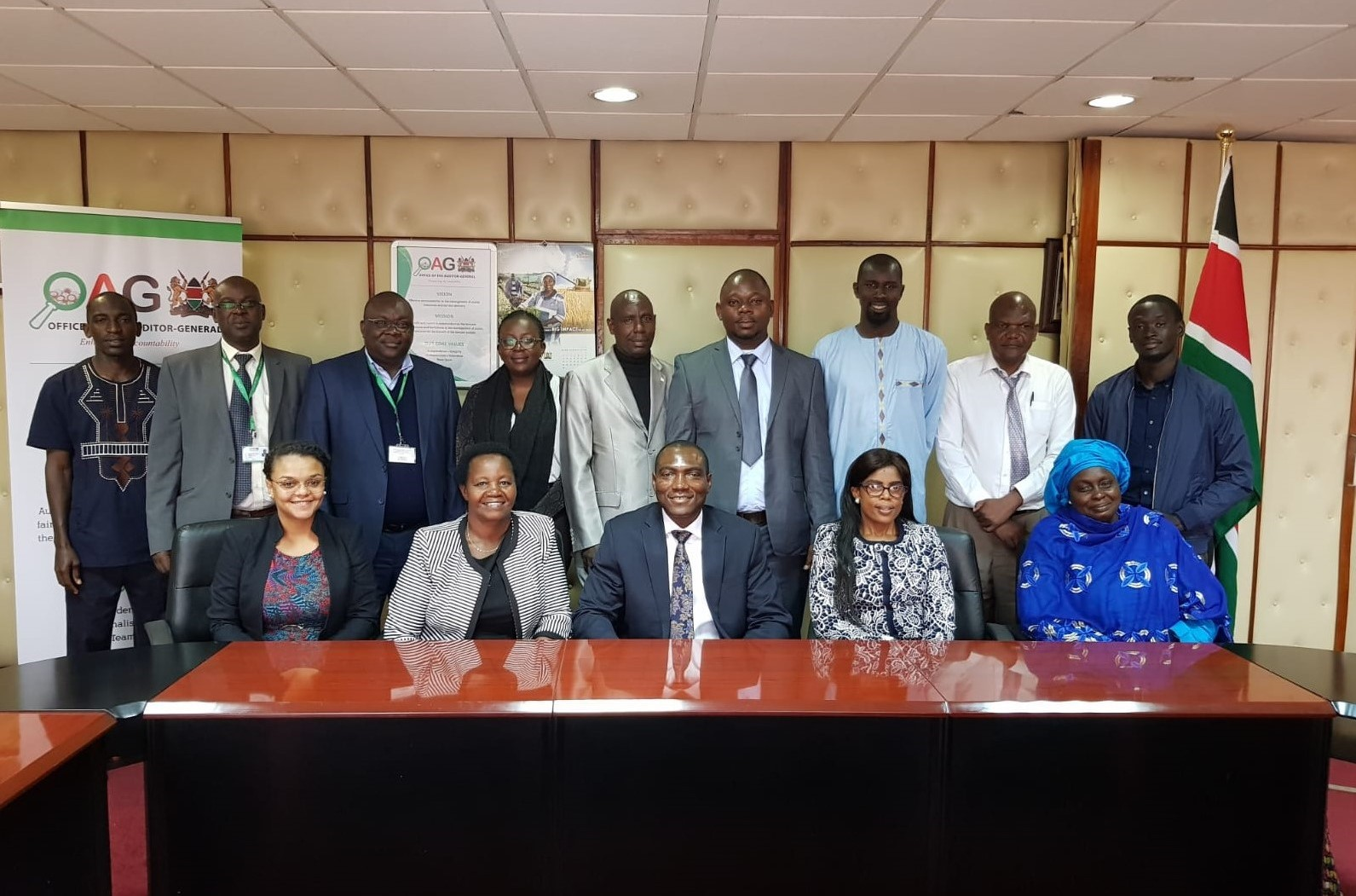 Directorate of PFM and Internal Audit in partnership with the Commonwealth Secretariat embarked on a learning exchange at the National Treasury, Kenya.