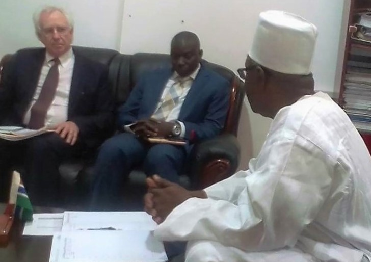 WorLD Bank team visit the Gambia on SOE support